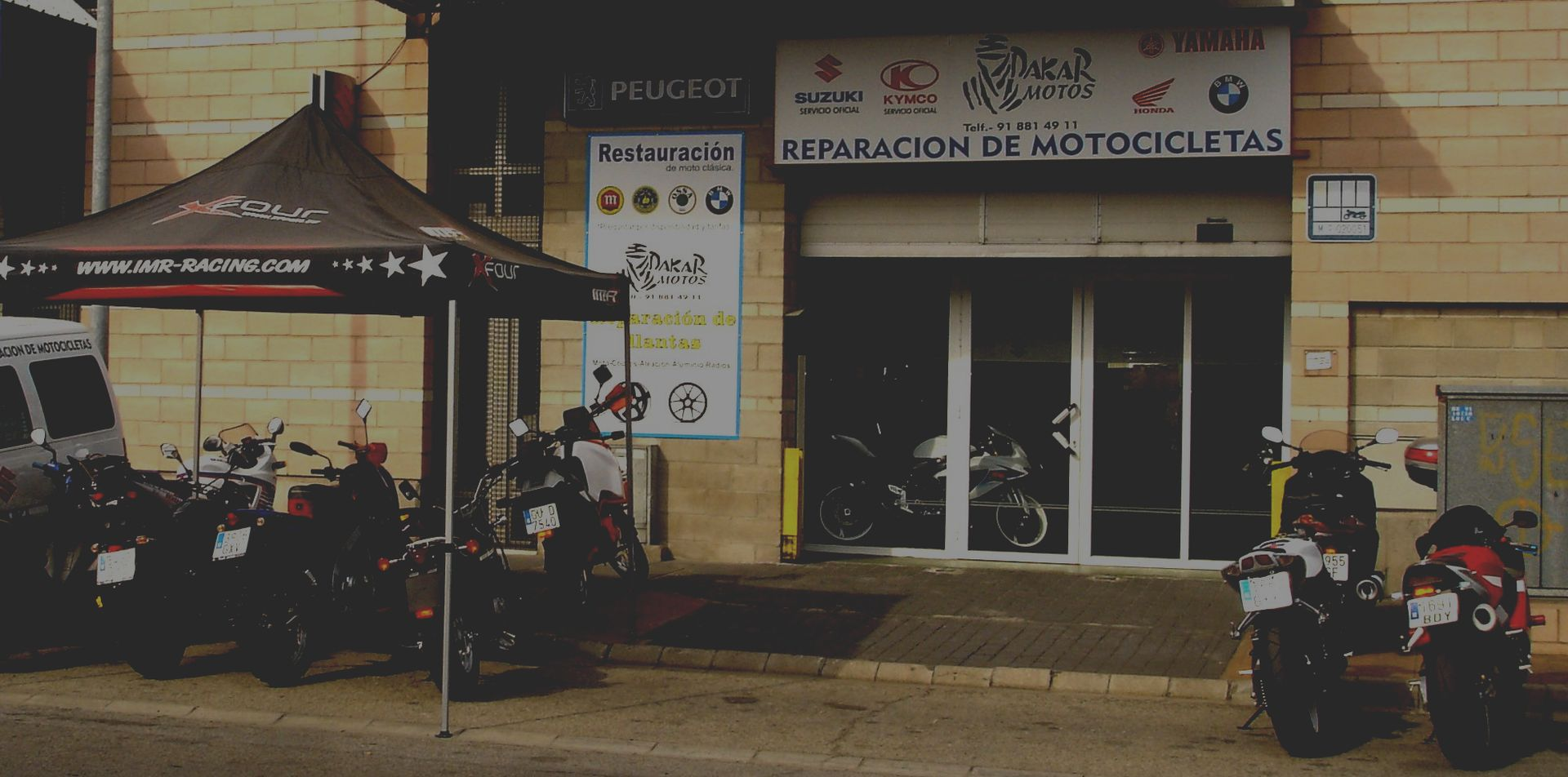 Dakar Motos Web